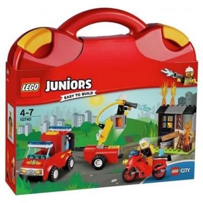 LEGO® Juniors Fire Patrol Suitcase 10740