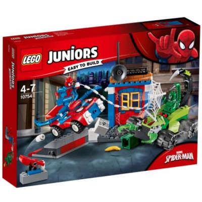 LEGO® Juniors Spider-Man vs. Scorpion Street Showdown 10754