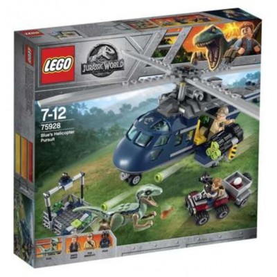 LEGO® Jurassic World™ Blue's Helicopter Pursuit 75928