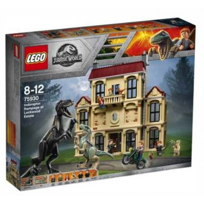 LEGO® Jurassic World™ Indoraptor Rampage at Lockwood Estate 75930