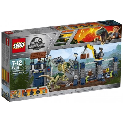 LEGO® Jurassic World™ Dilophosaurus Outpost Attack 75931