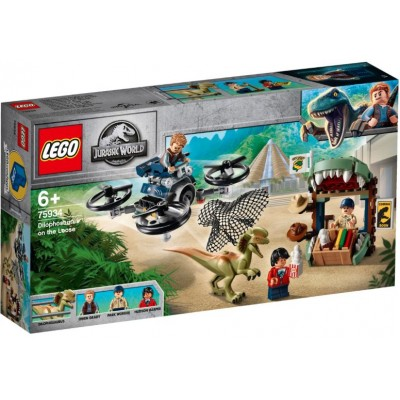 LEGO® Jurassic World Dilophosaurus on the Loose 75934