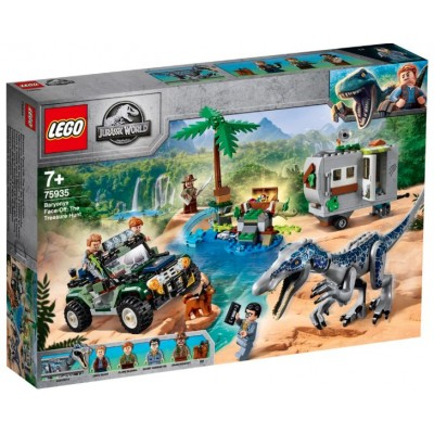 LEGO® Jurassic World Baryonyx Face-Off: The Treasure Hunt 75935