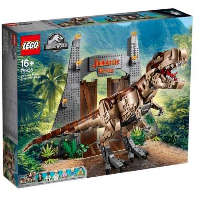 LEGO® Jurassic World Jurassic Park: T. rex Rampage 75936