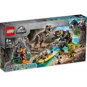 LEGO® Jurassic World T. rex vs Dino-Mech Battle 75938