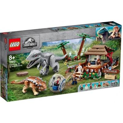 LEGO® Jurassic World Indominus Rex vs. Ankylosaurus 75941