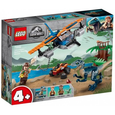 LEGO® Jurassic World Velociraptor: Biplane Rescue Mission 75942