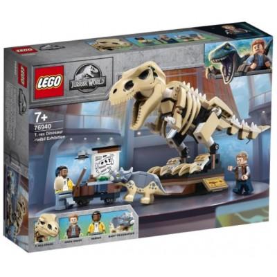 LEGO® Jurassic World T. rex Dinosaur Fossil Exhibition 76940