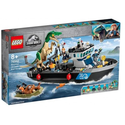 LEGO® Jurassic World Baryonyx Dinosaur Boat Escape 76942
