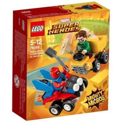 LEGO® Marvel Super Heroes™ Mighty Micros: Scarlet Spider vs. Sandman 76089