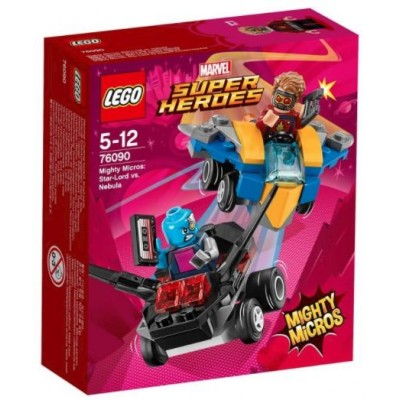 LEGO® Marvel Super Heroes™ Mighty Micros: Star-Lord vs. Nebula 76090