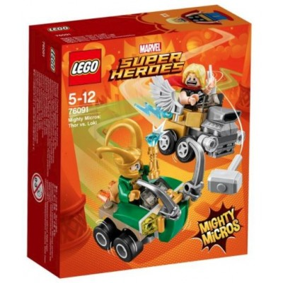 LEGO® Marvel Super Heroes™ Mighty Micros: Thor vs. Loki 76091