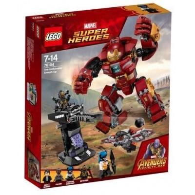 LEGO® Marvel Super Heroes™ The Hulkbuster Smash-Up 76104