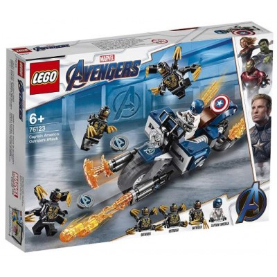 LEGO® Marvel Super Heroes™ Captain America: Outriders Attack 76123