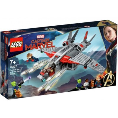 LEGO® Marvel Super Heroes™ Captain Marvel and The Skrull Attack 76127