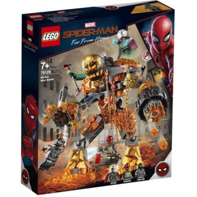 LEGO® Marvel Super Heroes™ Spider-Man Molten Man Battle 76128