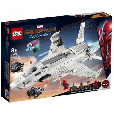 LEGO® Marvel Super Heroes™ Spider-Man Stark Jet and the Drone Attack 76130
