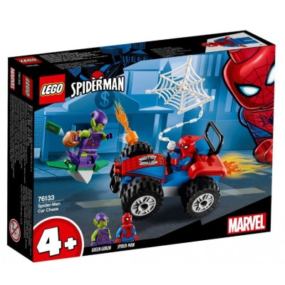 LEGO® Marvel Super Heroes™ Spider-Man Car Chase 76133