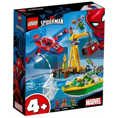 LEGO® Marvel Super Heroes Spider-Man: Doc Ock Diamond Heist 76134
