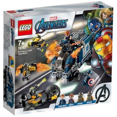 LEGO® Marvel Super Heroes™ Avengers Truck Take-down 76143