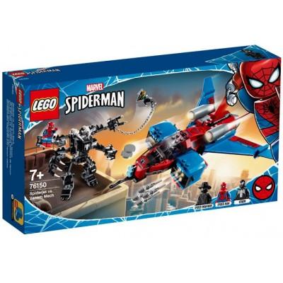LEGO® Marvel Super Heroes™ Spiderjet vs. Venom Mech 76150