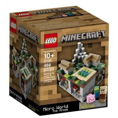 LEGO® Minecraft Micro World – The Village retired 21105