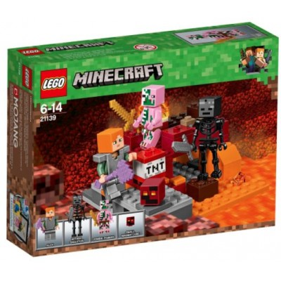 LEGO® Minecraft™ The Nether Fight 21139