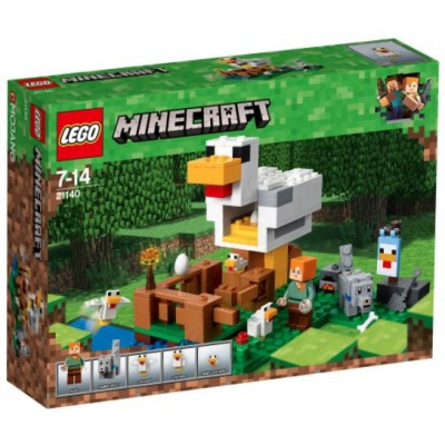 LEGO® Minecraft™ The Chicken Coop 21140