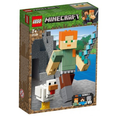 LEGO® Minecraft™ Alex BigFig with Chicken 21149