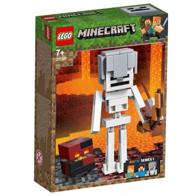 LEGO® Minecraft™ Skeleton BigFig with Magma Cube 21150