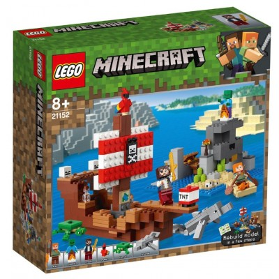 LEGO® Minecraft™ Pirate Ship Adventure 21152