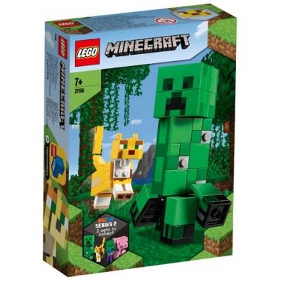 LEGO® Minecraft™ BigFig Creeper™ and Ocelot 21156