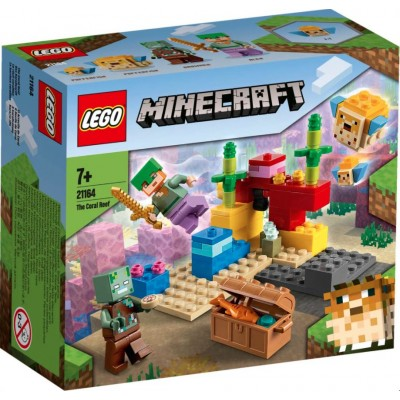 LEGO® Minecraft™ The Coral Reef 21164