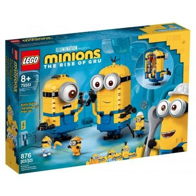 LEGO® Minions Brick-built Minions and their Lair 75551