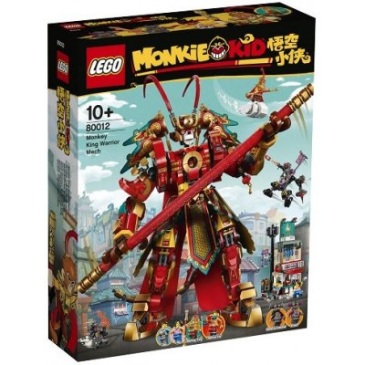 LEGO® Monkie Kid™ Monkey King Warrior Mech 80012