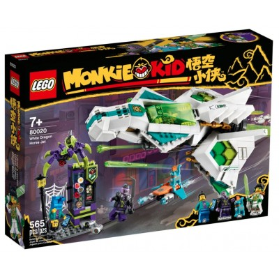 LEGO® Monkie Kid™ White Dragon Horse Jet 80020