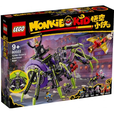 LEGO® Monkie Kid™ Spider Queen's Arachnoid Base 80022