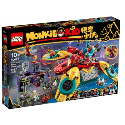 LEGO® Monkie Kid™ Monkie Kid's Team Dronecopter 80023