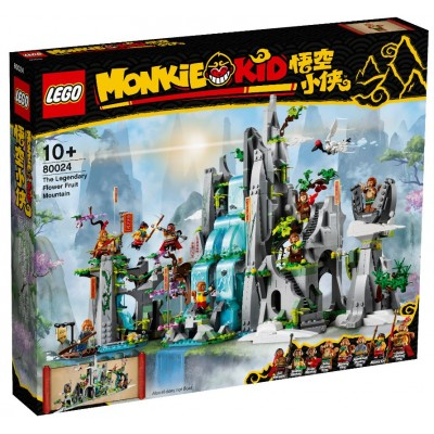 LEGO® Monkie Kid™ The Legendary Flower Fruit Mountain 80024