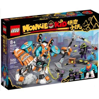 LEGO® Monkie Kid™ Sandy's Power Loader Mech 80025