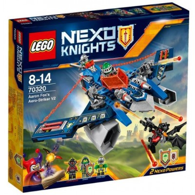 LEGO® NEXO KNIGHTS™ Aaron Fox's Aero-Striker V2 70320