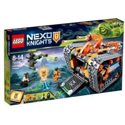 LEGO® NEXO KNIGHTS™  Axl's Rolling Arsenal 72006