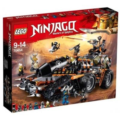 LEGO® NINJAGO® Dieselnaut 70654
