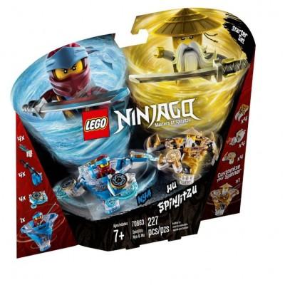 LEGO® NINJAGO® Spinjitzu Nya & Wu 70663