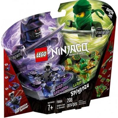 LEGO® NINJAGO® Spinjitzu Lloyd vs Garmadon 70664