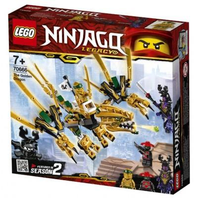 LEGO® NINJAGO® The Golden Dragon 70666