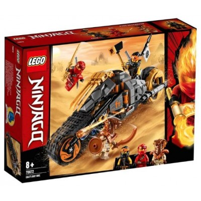 LEGO® NINJAGO® Cole's Dirt Bike 70672