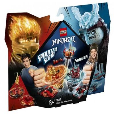 LEGO® NINJAGO® Spinjitzu Slam - Kai vs. Samurai 70684