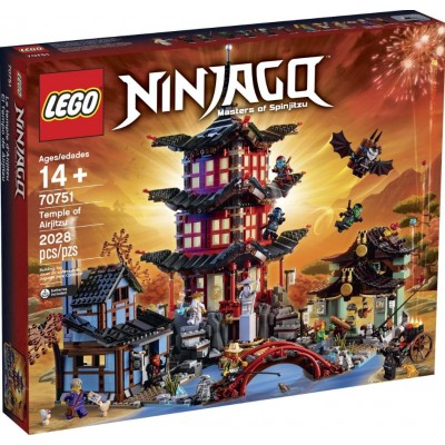 LEGO® NINJAGO® Temple of Airjitzu 70751