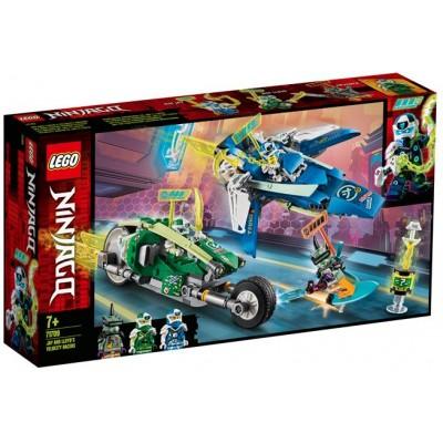 LEGO® NINJAGO® Jay and Lloyd's Velocity Racers 71709